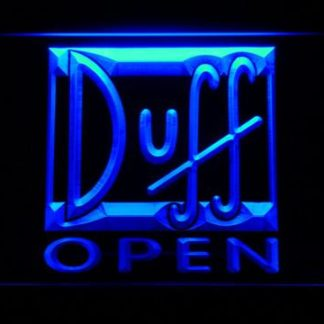 Duff Open neon sign LED