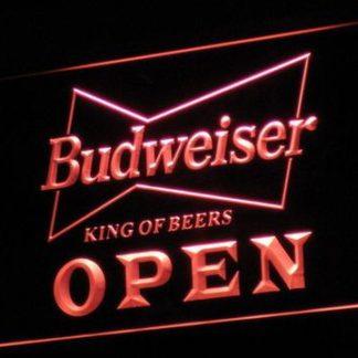 Budweiser Open neon sign LED