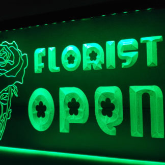 Florist Open neon sign LED