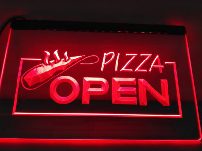 Pizza Open neon sign LED