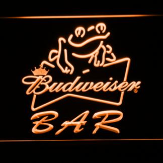 Budweiser Frog Bar neon sign LED