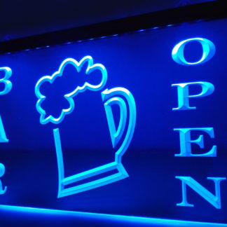 Bar Open neon sign LED