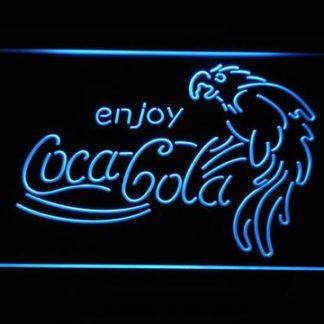 Coca-Cola Parrot neon sign LED