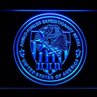 US Armed Forces  Expeditionary Medal neon sign LED
