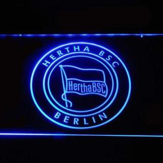 Hertha BSC neon sign LED