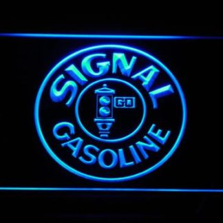 Signal Gasoline neon sign LED