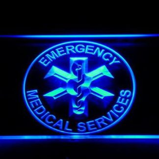 Emergency Medical Services neon sign LED
