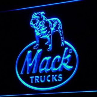 Mack Old Logo neon sign LED