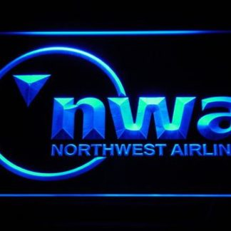 Northwest Airlines neon sign LED
