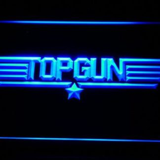 Top Gun neon sign LED