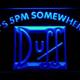 Duff It's 5pm Somewhere neon sign LED