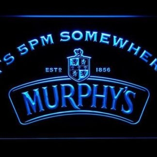 Murphy's It's 5pm Somewhere neon sign LED