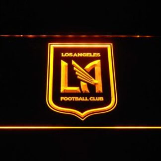 Los Angeles Football Club neon sign LED