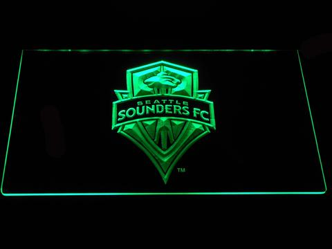 Seattle  Sounders neon sign LED