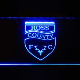 Ross County F.C. neon sign LED