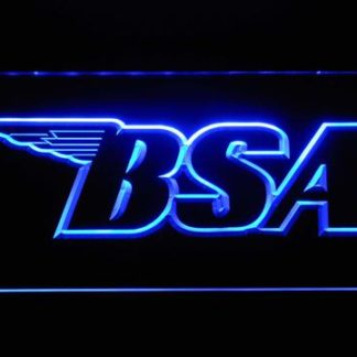 BSA Outline neon sign LED