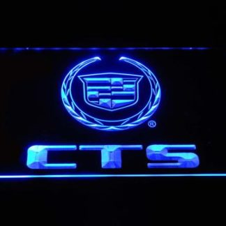 Cadillac CTS neon sign LED