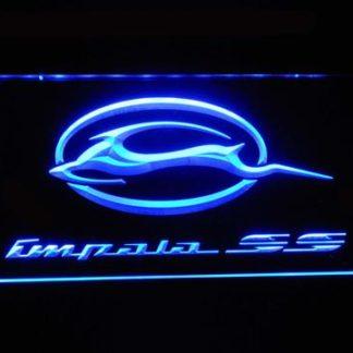 Chevrolet Impala SS neon sign LED