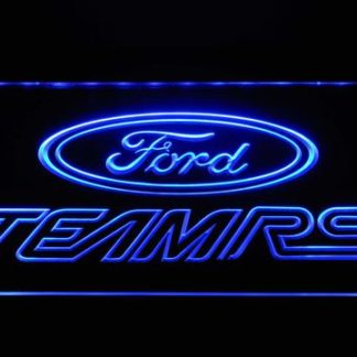 Ford Team RS neon sign LED