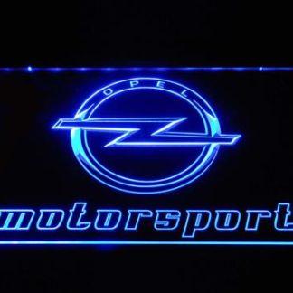 Opel Motorsport neon sign LED