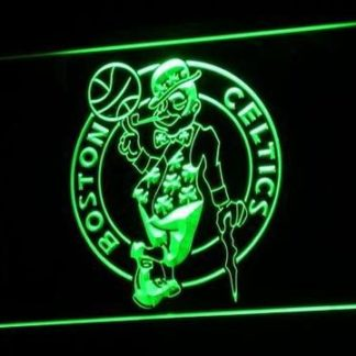 Boston Celtics neon sign LED