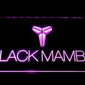 Los Angeles Lakers Kobe Bryant Black Mamba Logo neon sign LED