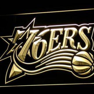 Philadelphia 76ers 1997-2009 Logo neon sign LED