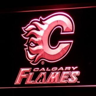 Calgary Flames neon sign LED