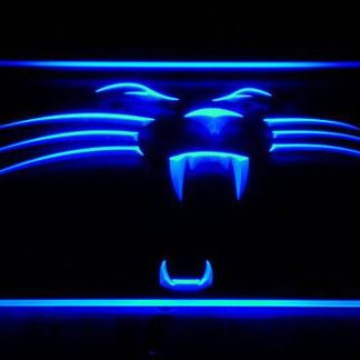 Carolina Panthers Panther neon sign LED