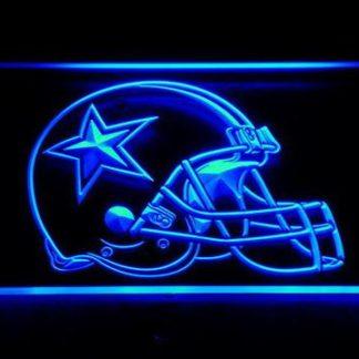 Dallas Cowboys Helmet neon sign LED