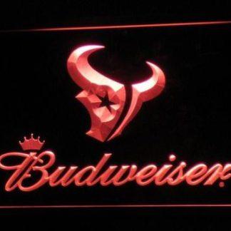 Houston Texans Budweiser neon sign LED