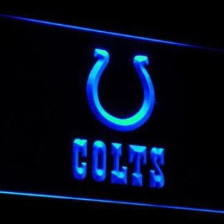 Indianapolis Colts Logo neon sign LED