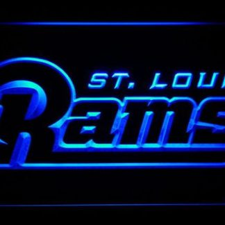 Los Angeles Rams 2000-2015 Text - Legacy Edition neon sign LED
