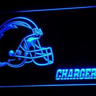 Los Angeles Chargers Helmet neon sign LED