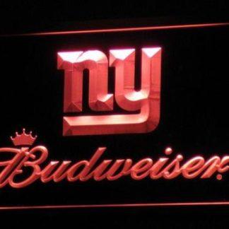 New York Giants Budweiser neon sign LED