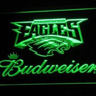 Philadelphia Eagles Budweiser neon sign LED