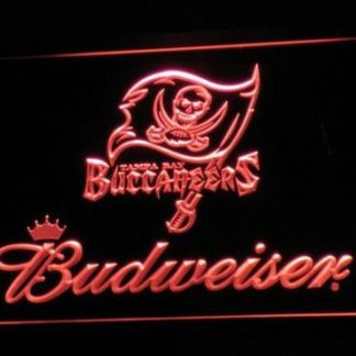 Tampa Bay Buccaneers Budweiser neon sign LED