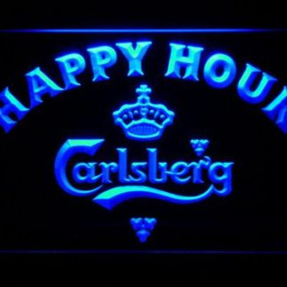 Carlsberg Happy Hour neon sign LED