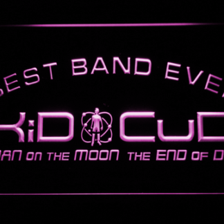 Kid Cudi Best Band Ever neon sign LED