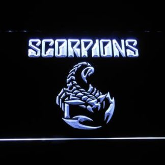 Scorpions neon sign LED