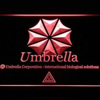 Resident Evil Umbrella Corporation neon sign LED