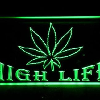 High Life neon sign LED