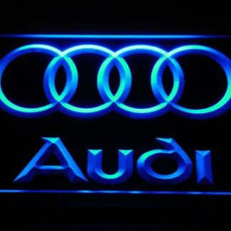 Audi neon sign LED