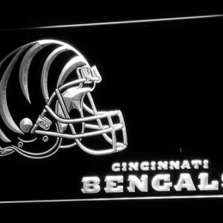 Cincinnati Bengals Helmet neon sign LED