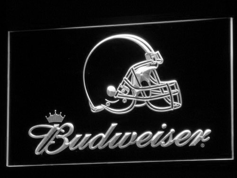 Cleveland Browns Budweiser neon sign LED