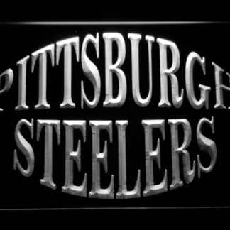 Pittsburgh Steelers Text 2 neon sign LED