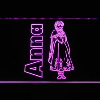 Frozen Anna neon sign LED