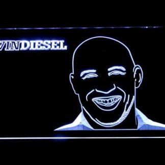 Vin Diesel neon sign LED