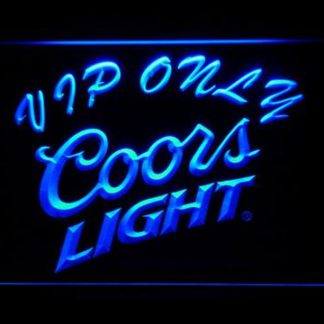 Coors Light VIP Only neon sign LED
