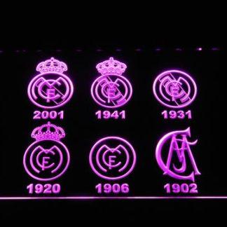 Real Madrid CF Logos neon sign LED